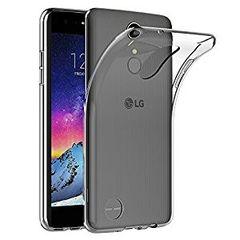 LG K8 2017 Back Cover Soft - Transparent
