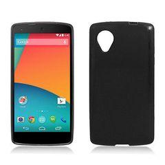 LG Nexus 5 Back Cover Soft - Black