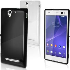 Sony Xperia C3 Back Cover Soft - Black