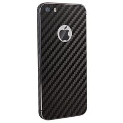 Iphone 5S Back Tempered - Skin Soft Black