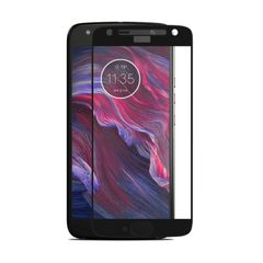 Moto X4 Full Tempered Glass Black