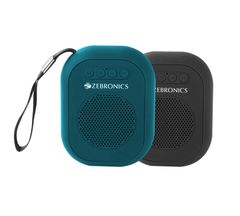 Zebronics ZEB-SAGA Ultra Portable bluetooth wireless speaker with built in FM/ call function