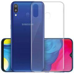 Samsung M20 Back Cover Soft - Transparent