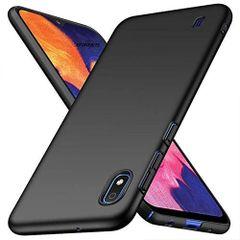 Samsung A10 Back Cover Soft - Black