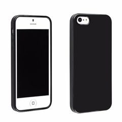 Iphone 5s Back Cover Soft - Black