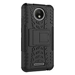 Moto C Plus Back Cover Defender Case