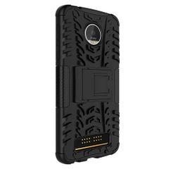 Moto Z Play Back Cover Defender Case