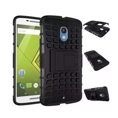Moto X Play Back Cover Defender Case
