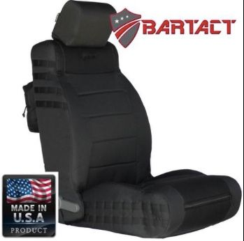 BARTACT MIL-SPEC JEEP WRANGLER 2007-2010 JK Front SEAT COVERS (pair)
