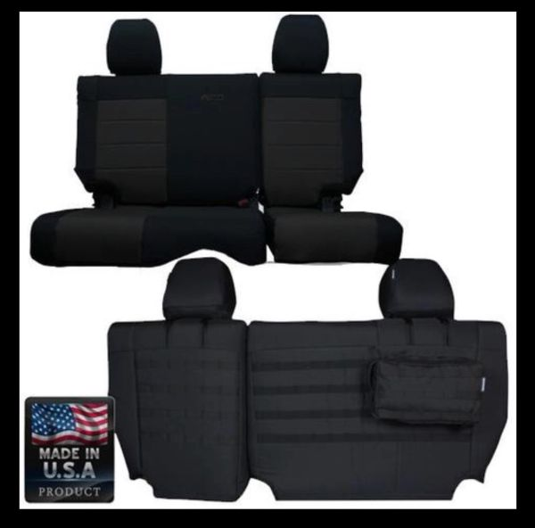 BARTACT MIL-SPEC JEEP WRANGLER 2011-2012 JK Rear SEAT COVERS