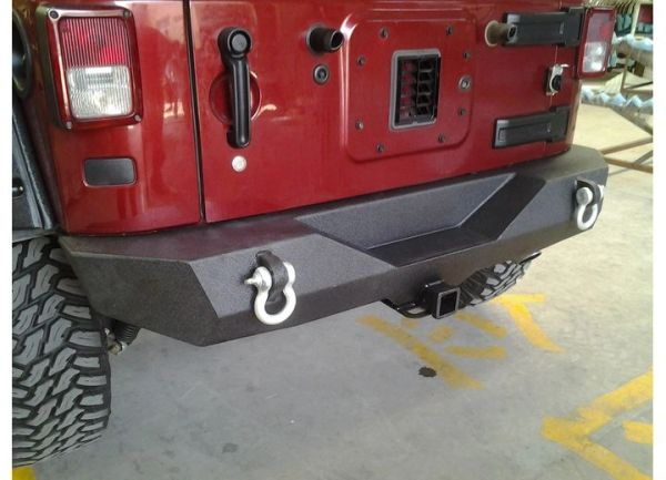 Promaxx 87-06 WRANGLER REAR BUMPER BLACK TEXTURED