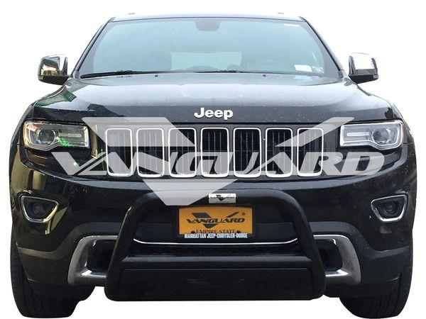 Vanguard Bull Bar 2.5″ w. Skid Plate 2011-2018 Jeep Grand Cherokee