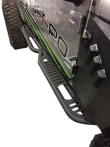 DV8 SR-6 JK ROCK SLIDER STEPS (4 DOOR)