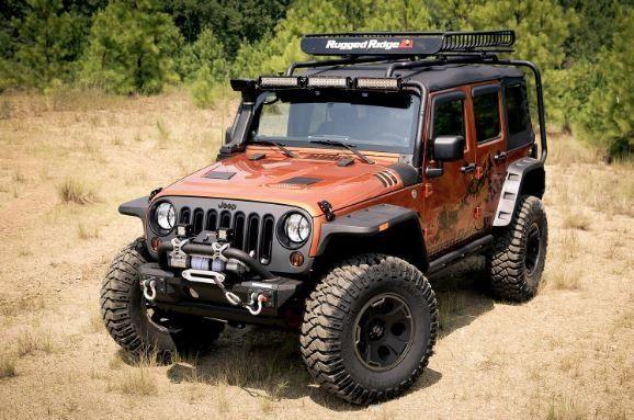 Hurricane Flat Fender Flare Kit; 07-18 Jeep Wrangler JK
