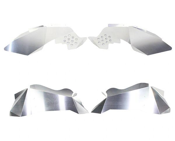Fishbone offroad JK Inner Fenders - Raw Aluminum