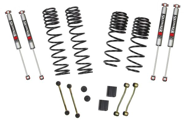 "SkyJacker 18-C JEEP WRANGLER JL 2-2.5"" LIFT DUAL RATE LONG TRAVEL SPRGS INC (4) M95 SHOCKS"