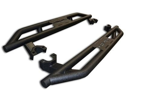 DV8 Offroad SR-3 Rock Slider Step bars 2 door Jeep Wrangler
