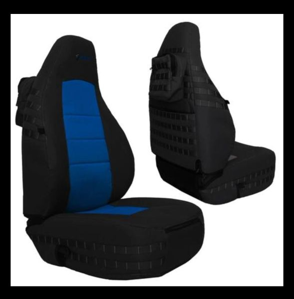 Bartact JEEP WRANGLER TJ FRONT SEAT COVERS 1997-2002