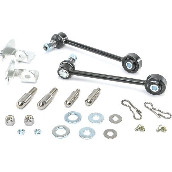 "Teraflex Front Swaybar Quick Disconnects for 07-18 Jeep Wrangler & Wrangler Unlimited JK with 0-3"" Lift"