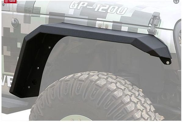 IRON CROSS 18-C WRANGLER JL FENDER FLARE SET