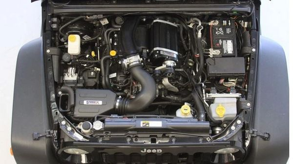 JEEP WRANGLER JK 3.6L SUPERCHARGER WITH TUNER