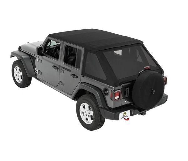 Bestop Jeep WRANGLER 18-C JL 4-DOOR TREKTOP NX