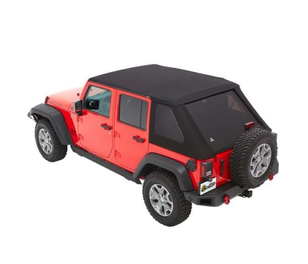 Bestop TREKTOP NX PLUS SOFT TOP 4DR Jeep Wrangler 07-1 8 JKU