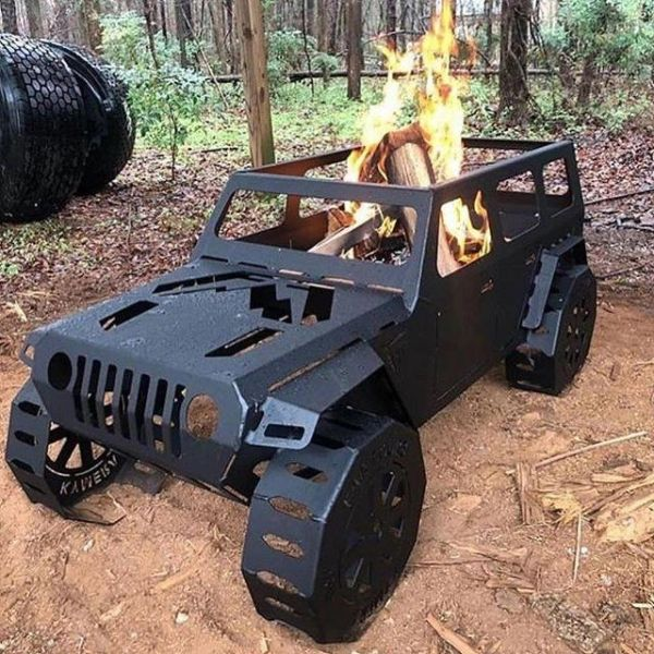 Fab Fours Jeep Fire Pit