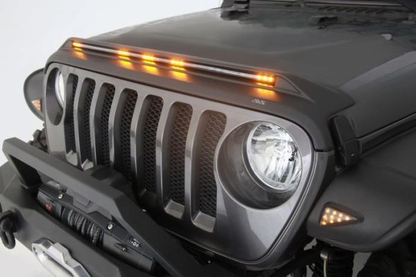 Auto Ventshade Aeroskin LightShield Hood Protector for Jeep Wrangler 753156 /753060