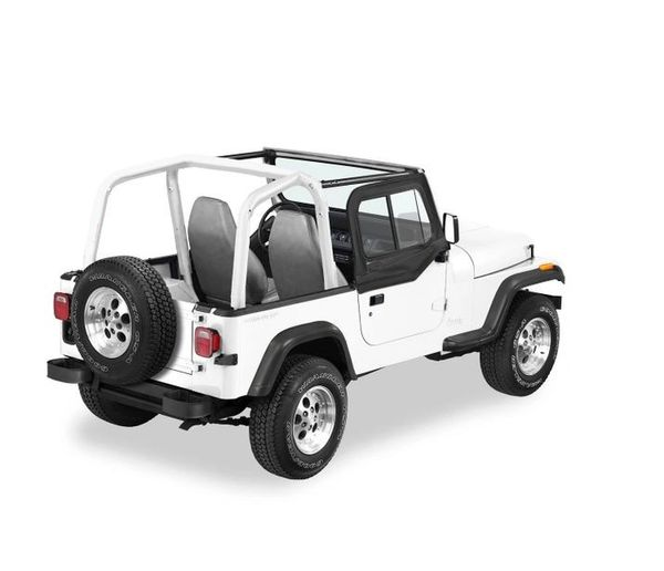 Bestop UPPER DOOR SLIDERS FOR 1997-2006 WRANGLER