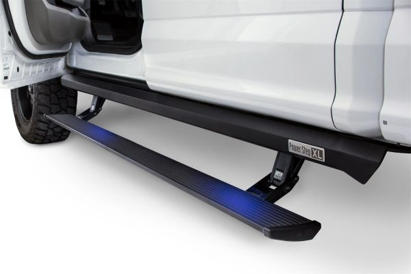 AMP Research 77132-01A PowerStep XL Electric Running Boards for 2018-2019 Jeep Wrangler JL, 4-Door