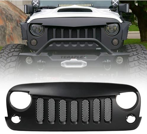 Angry Birds Grille for 2007-2018 Jeep Wrangler JK with mesh