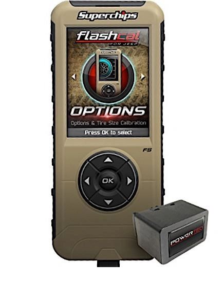 Superchips Jeep Flashcal for JT Gladiator - 3571-JT