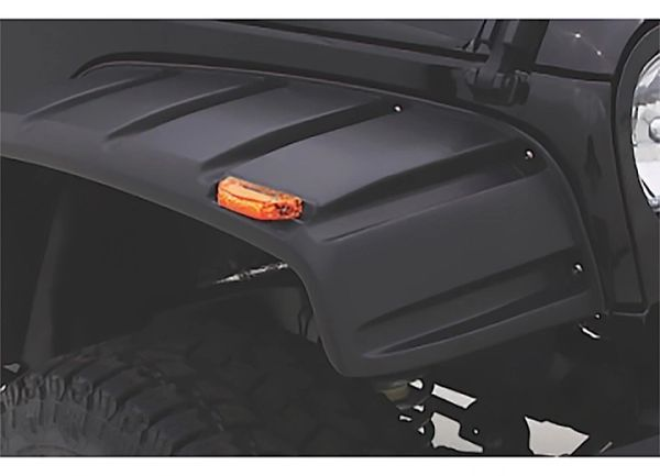 LUND FENDER FLARES 07-16 WRANGLER 2 & 4 DR. RX- RIVET STYLE 4PC RX606T