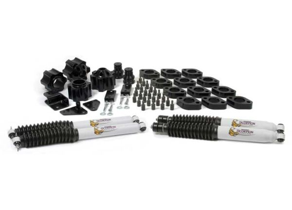 DAYSTAR SUSPENSION LIFT KIT07-16 JEEP WRANGLER JK 3IN LIFT KJ09153BK