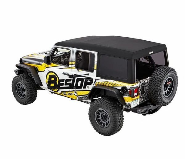 BESTOP SUPERTOP ULTRA – 4 DOOR WRANGLER JL (2018-Current) Black Twill 54725-17