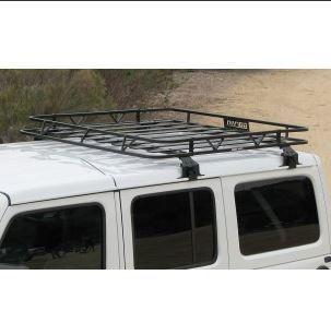 Garvin Wilderness 4 Door Hardtop Cargo Rack, 18-19 JL Jeep Wrangler