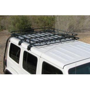 Garvin Wilderness Expedition Half Rack, 18-19 Jeep JL Wrangler, 4-Door
