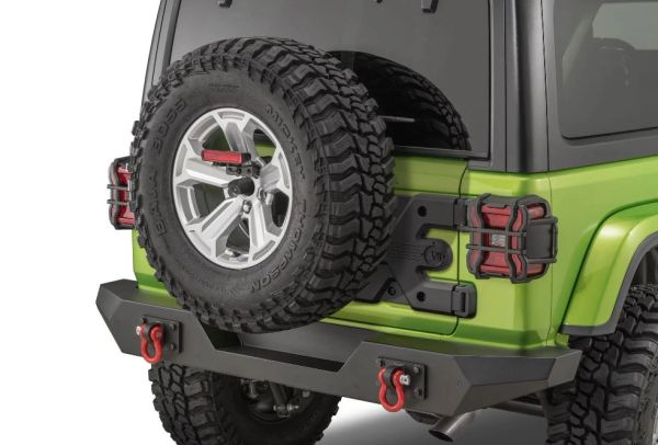 Rugged Ridge Spartacus HD Tire Carrier Kit, Jeep Wrangler 18-20 JL 11546.55
