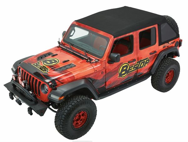 Bestop Trektop Ultra Jeep Wrangler JL 2018-current 54925-17
