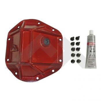 CROWN AUTOMOTIVE DIFFERENTIAL COVER-RED CASRT20026