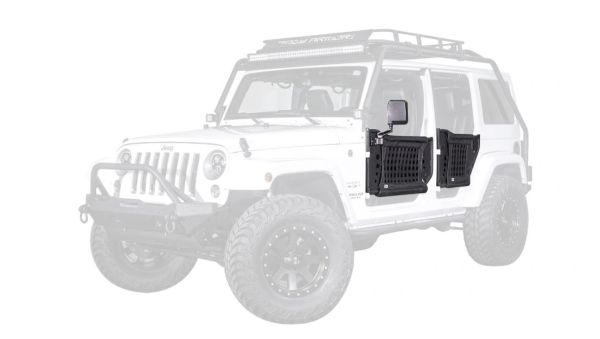Body Armor 2007-2018 Jeep Wrangler JK/JKU Gen 3 Trail Tube Doors