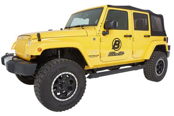 Bestop 75652-15 PowerBoard NX Wireless Sidesteps for 07-18 Jeep Wrangler Unlimited JK