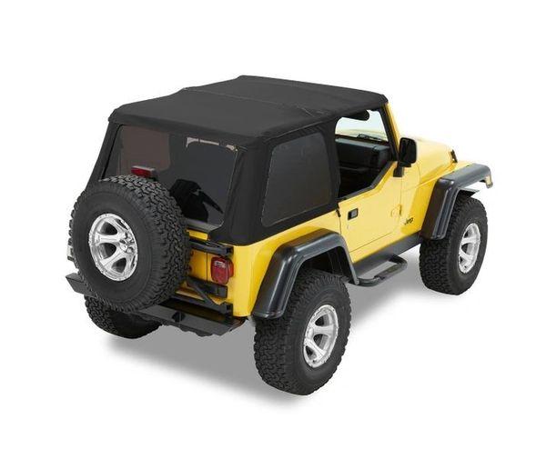 Bestop TREKTOP NX Soft Top 97-06 Jeep Wrangler 56820-35 56920-17