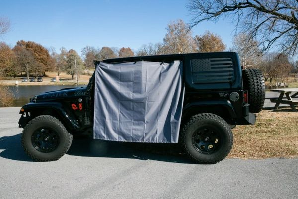 Rig Skinz 2 & 4 Door Rain Curtain Cover for Jeep Wrangler
