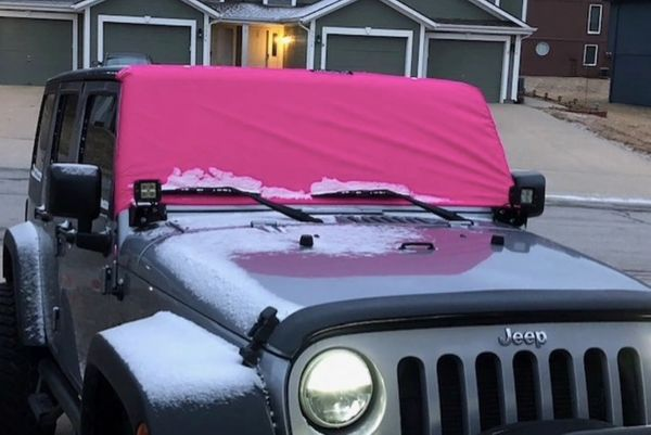 Rig Skinz™ Windshield Snow and Rain Cover Jeep Wrangler