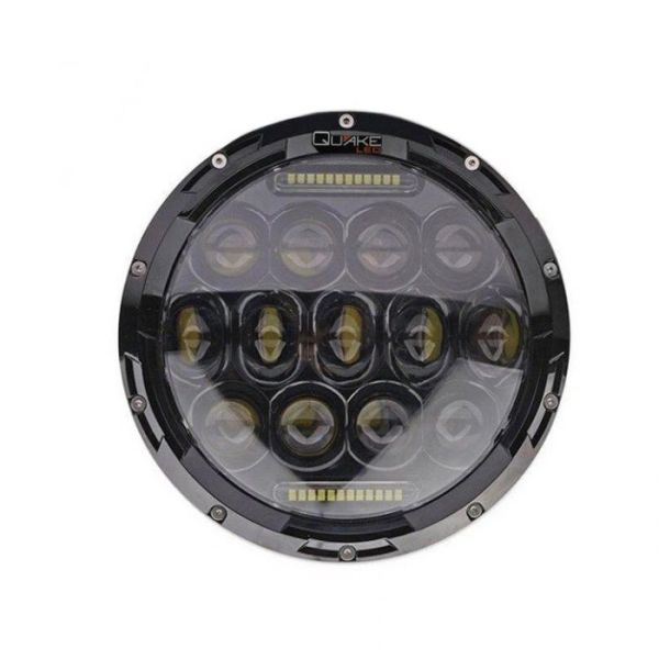 Quake LED RGB Headlights Fog Lights Combo Tempest series JEEP JK