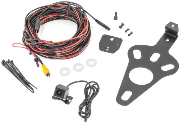 Quadratec Spare Tire Mount Backup Camera for 07-18 Jeep Wrangler JK with Aftermarket Stereo