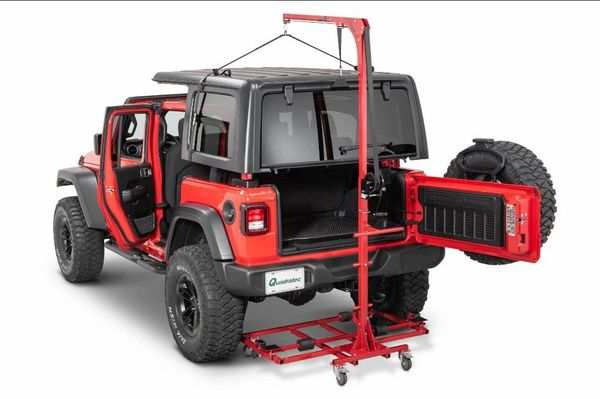 Lange Originals 014-GEN2A Hoist-A-Cart Gen 2 for 07-21 Jeep Wrangler JL & JK