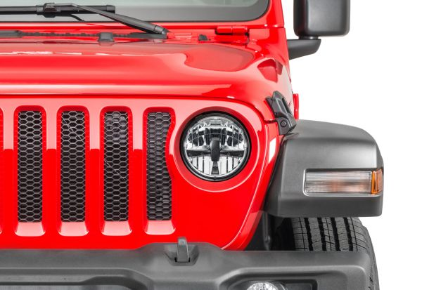 Quadratec Gen II LED Headlights for 18- Current Jeep Wrangler JL and Gladiator